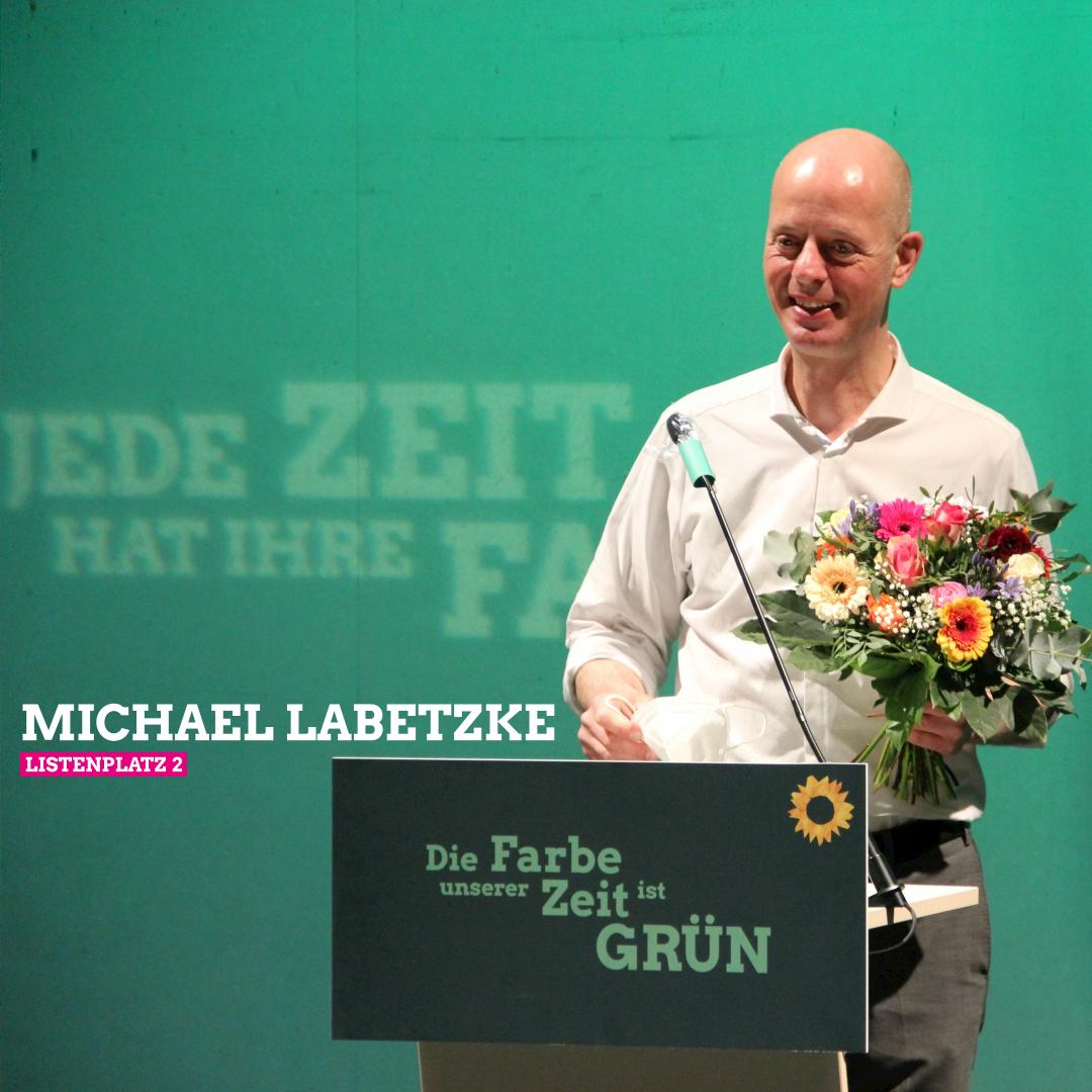 Bundestagswahl: Listenplatz 2 für Michael Labetzke