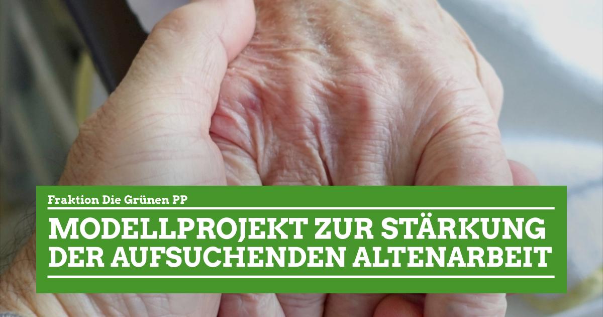 """GRÜNE PP wollen ein Modellprojekt """"Aufsuchende Altenarbeit"""" für Bremerhaven"""