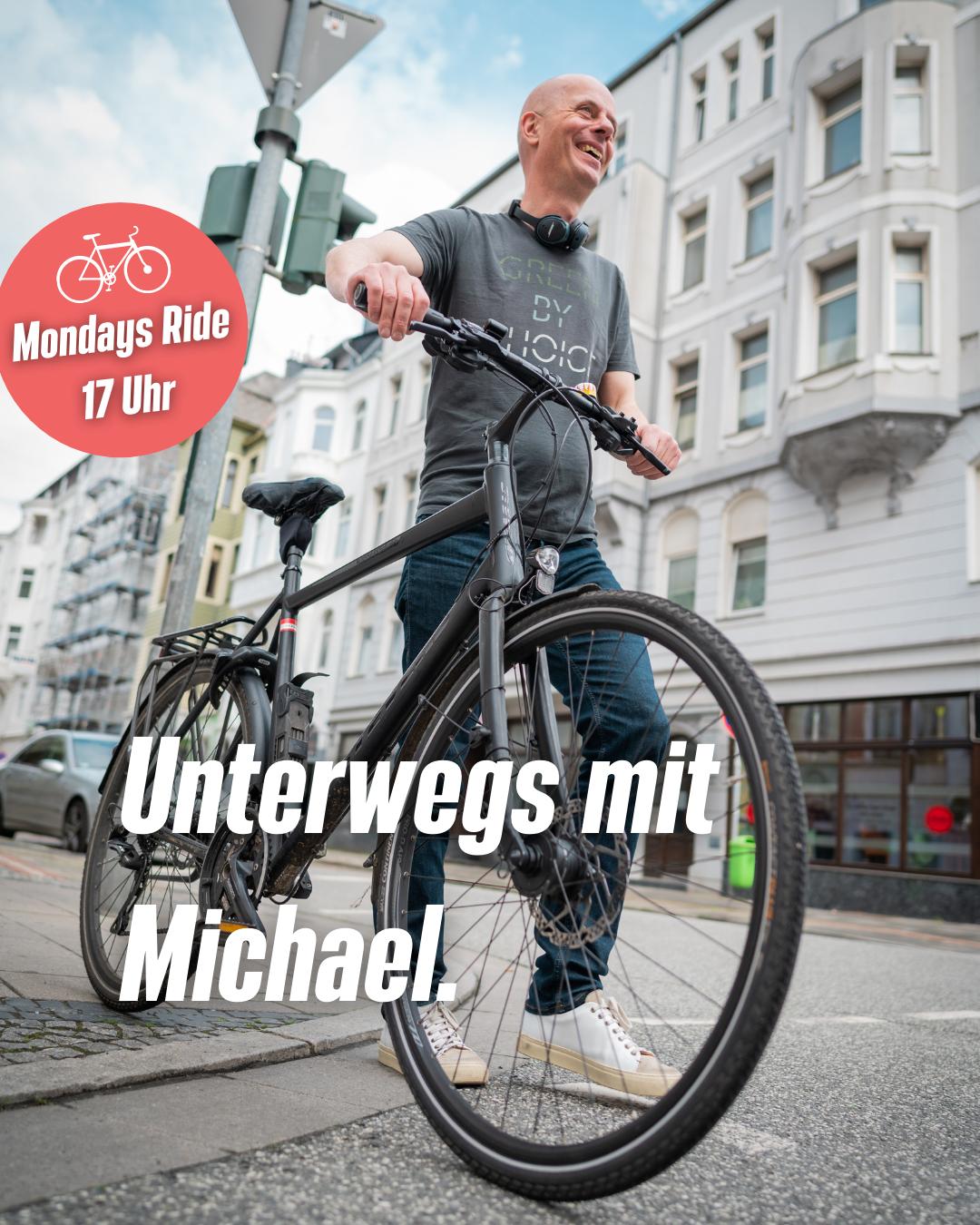"""""""Unterwegs mit Michael"""" – Mondays ride durch den Bremerhavener Norden"""