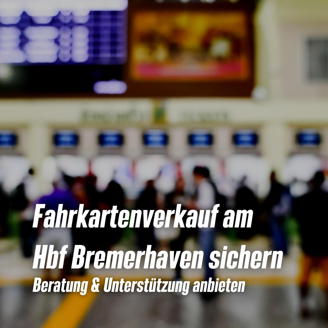 Reisezentrum Bremerhaven: Vorwürfe aus der Luft gegriffen